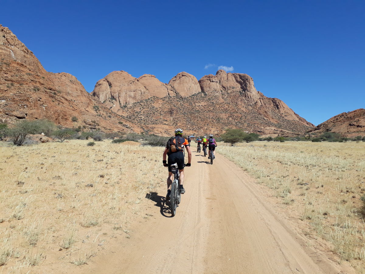 adventure africa cycling