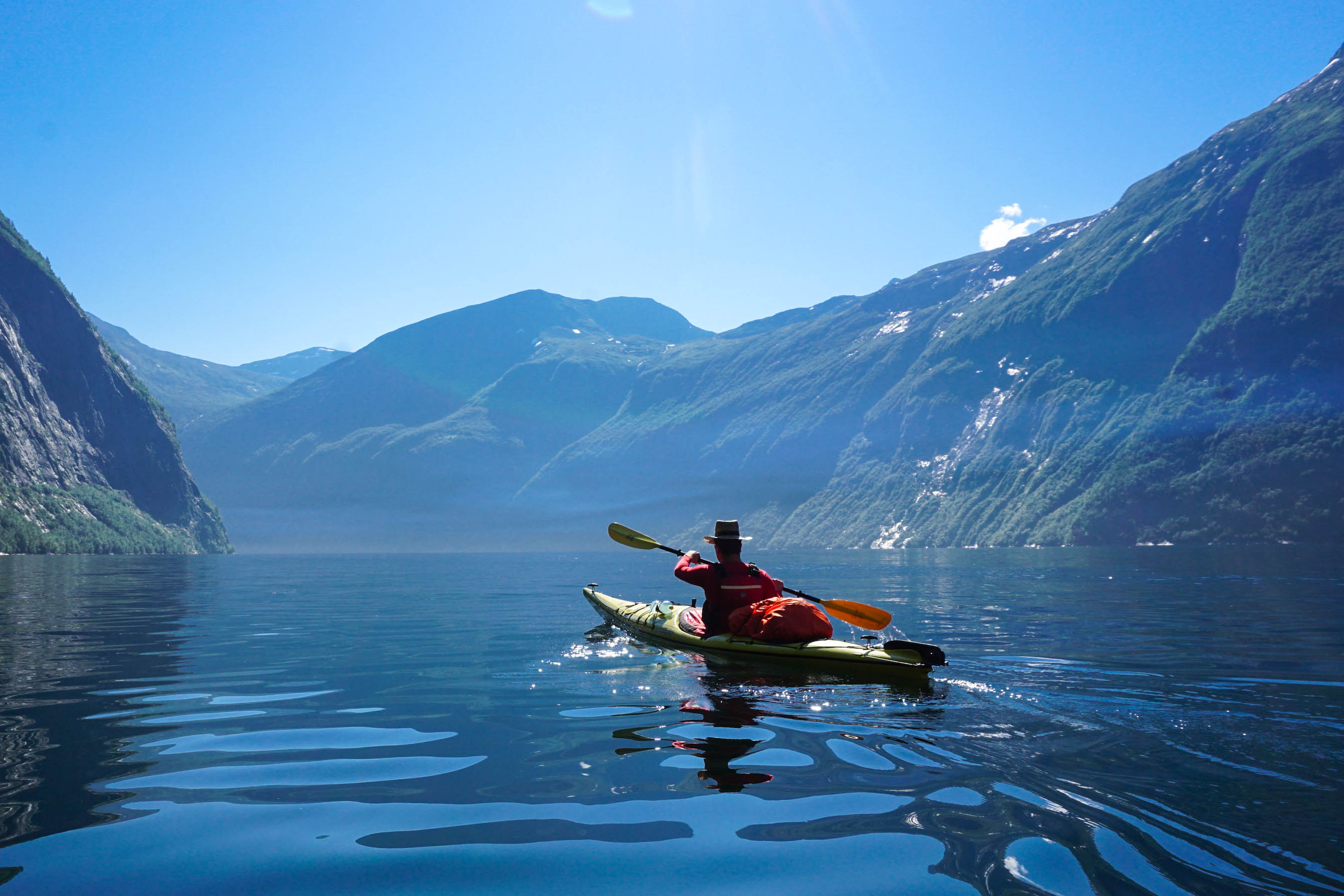 kayaking norway adventure tours