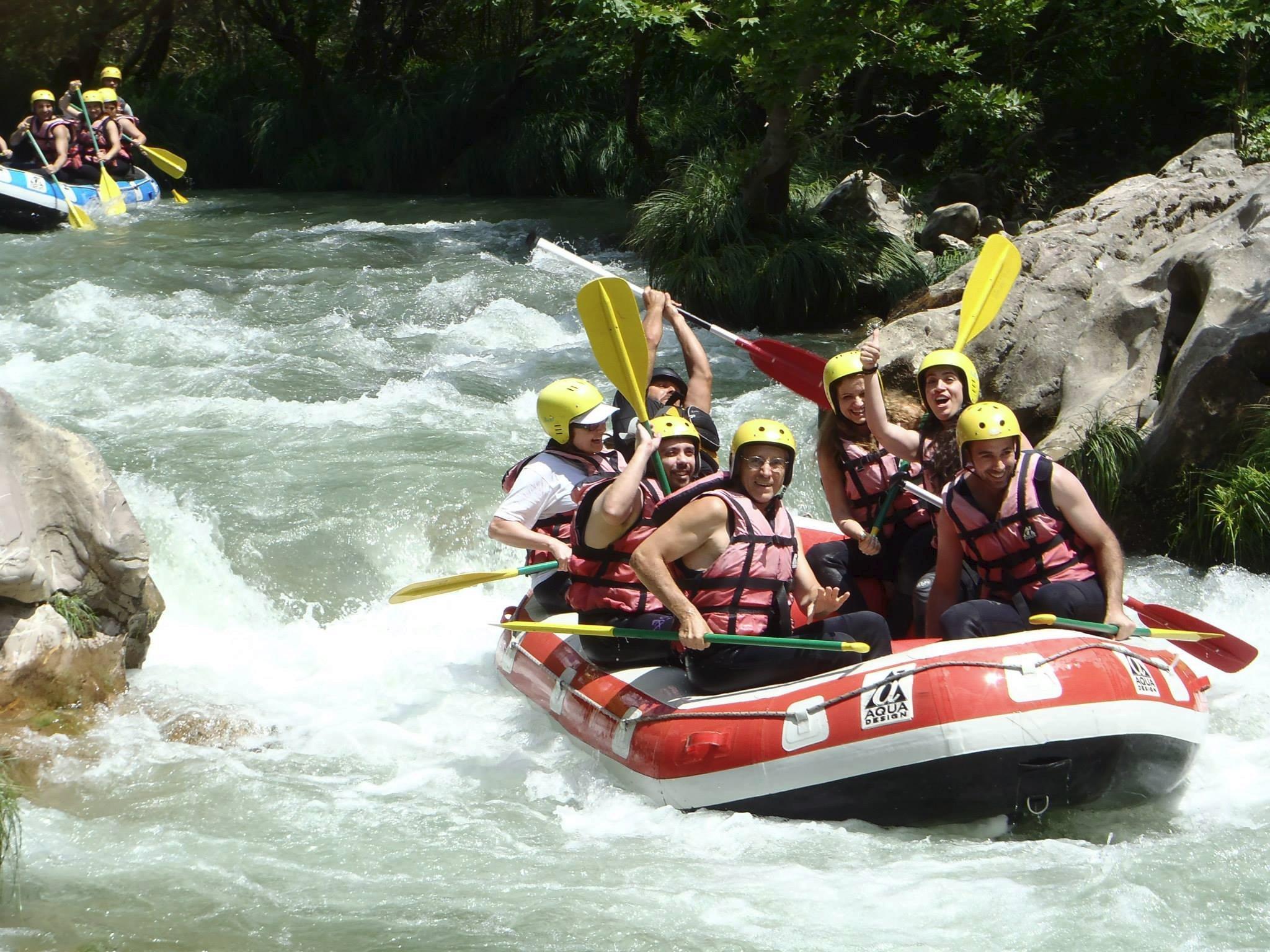 rafting-lousios-river