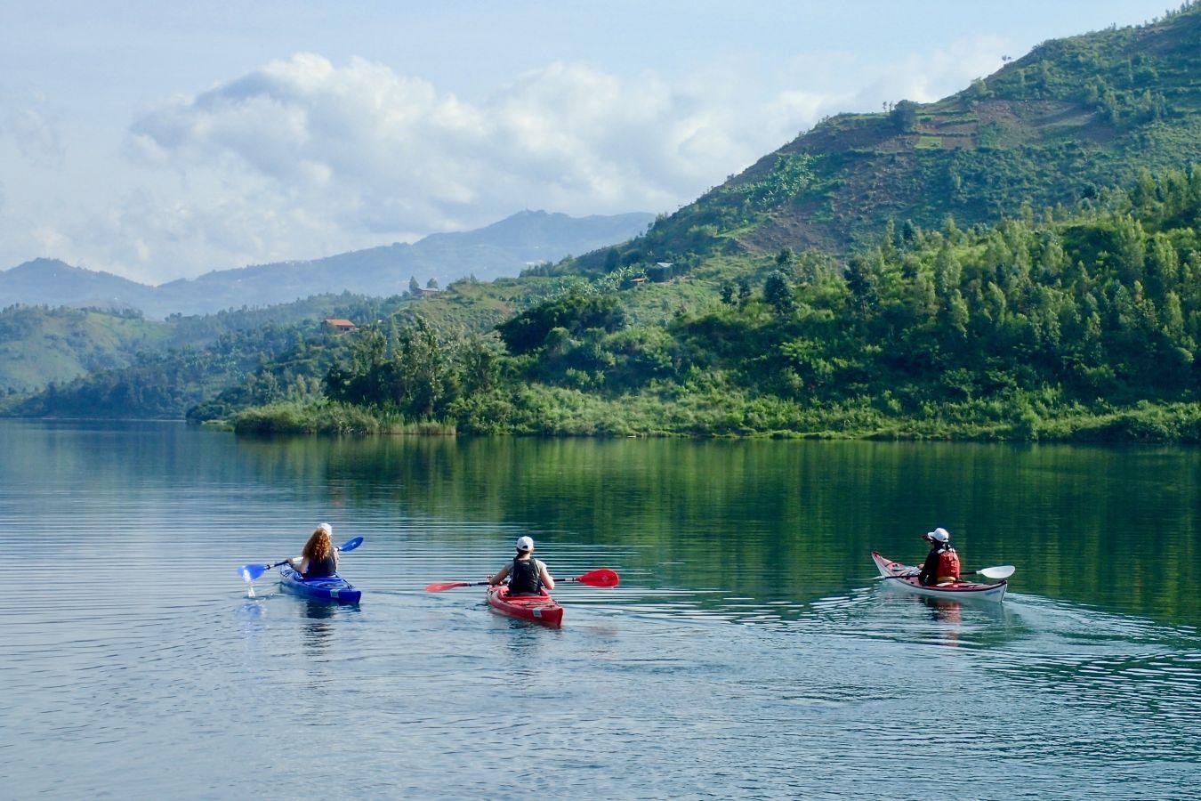 kayaking in africa