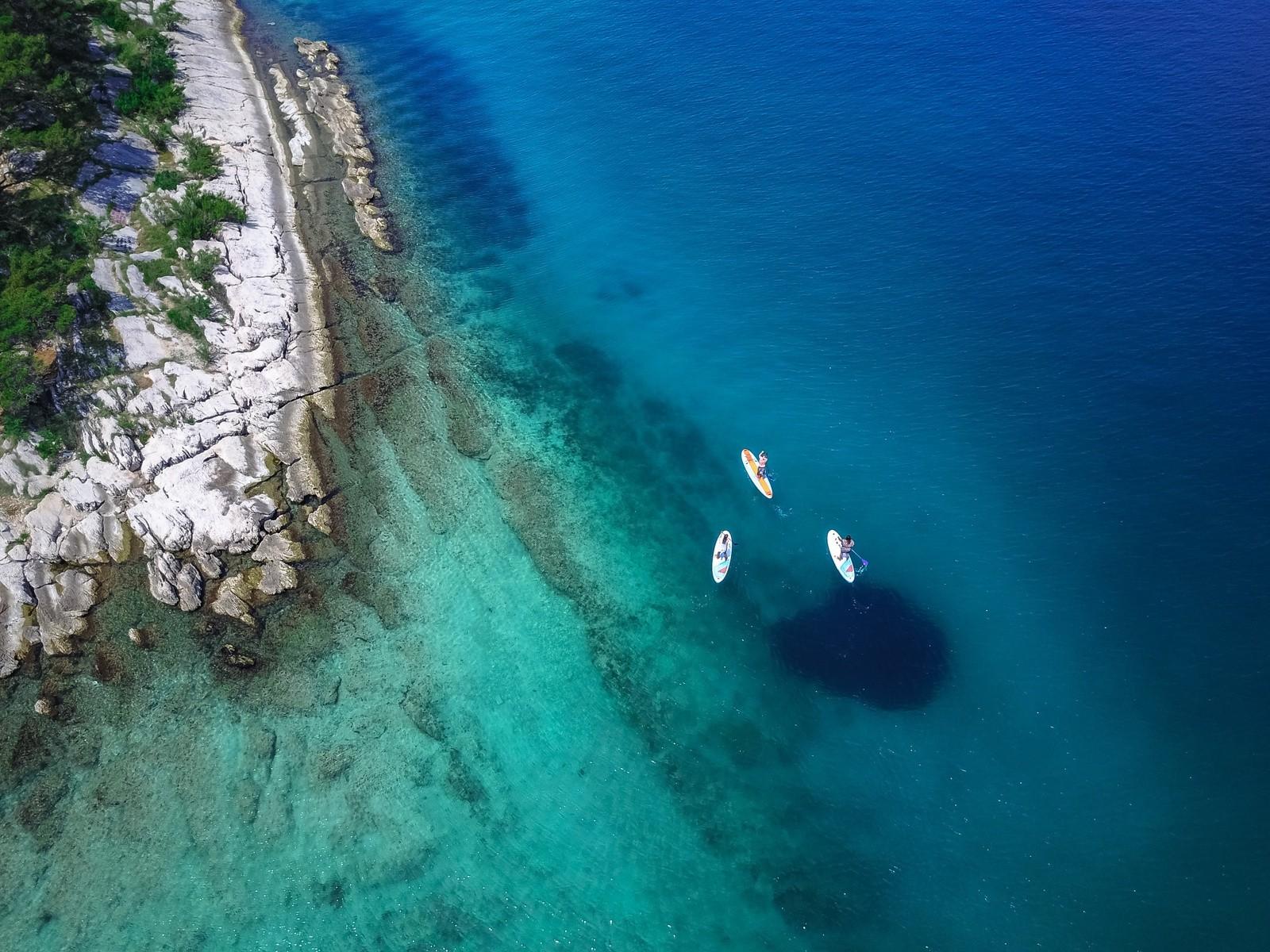 sup dalmatian coast