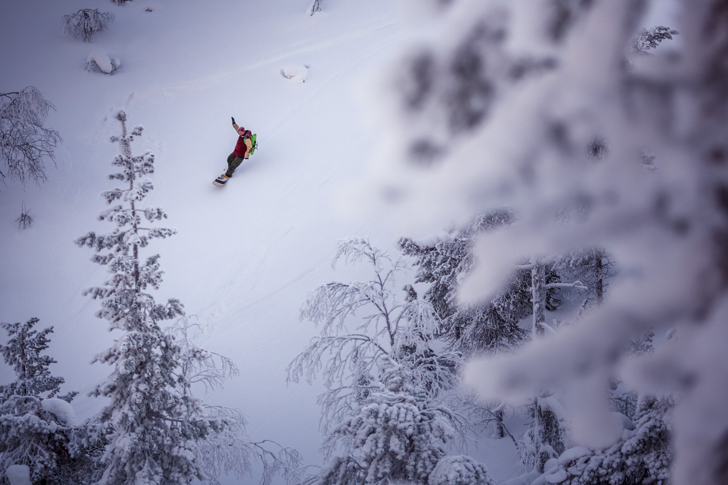ski-through-norways-backcountry-powder-from-a-military-truck