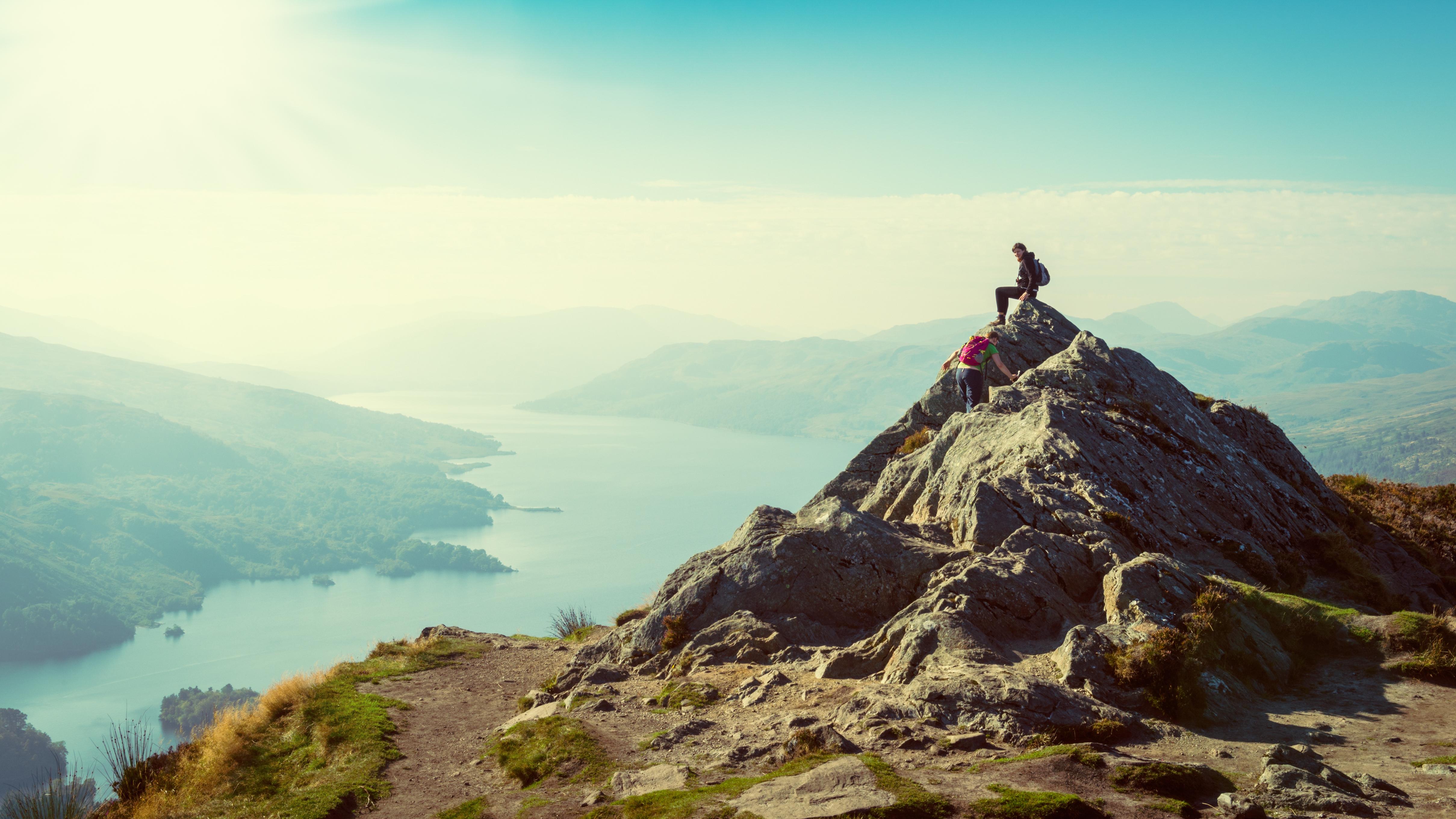 scottish highlands trekking uk