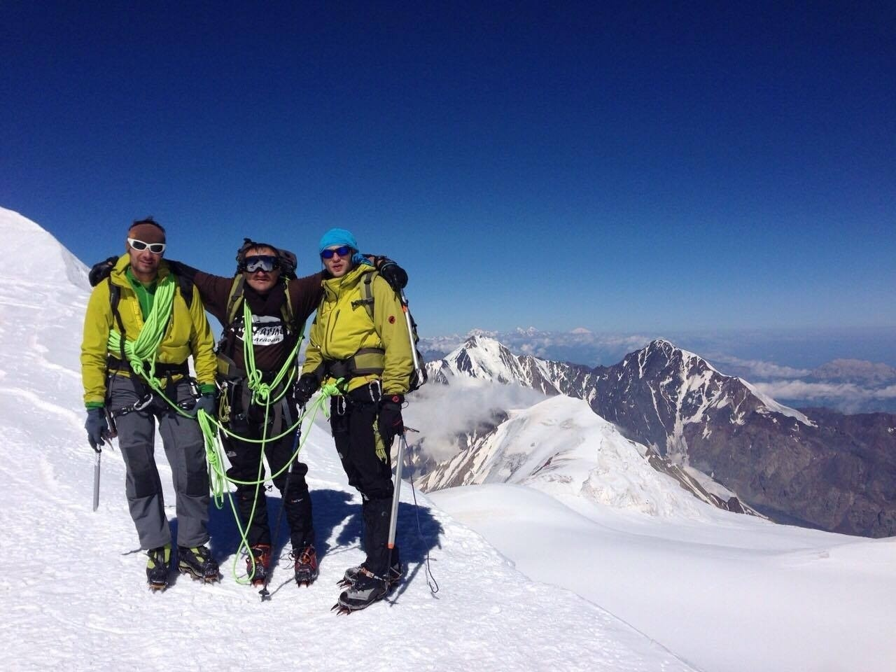 adventure georgia climb kazbek